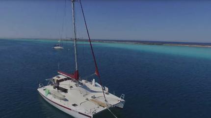 Crew wanted - shared ride to help sail a 42ft aluminium Catamaran