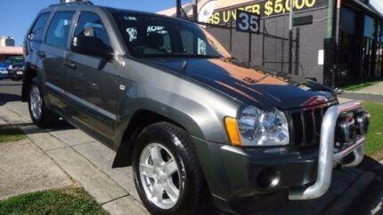2005 Jeep Grand Cherokee WG Limited Grey Automatic Wagon