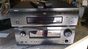 Denon 7.1 Av surround receiver and blu-ray disc transport Yagoona Bankstown Area Preview