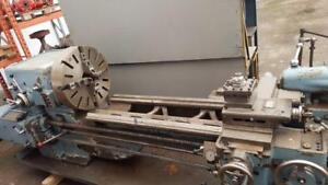 22x60 DS&G manual double gap lathe