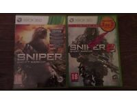 Sniper Ghost Warrior & Ghost Warrior 2 Limited edition for Xbox 360