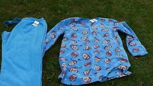 Women polar fleece pj set