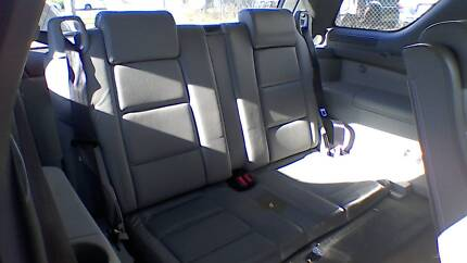 2006 FORD TERRITORY 3rd row seat conversion - leather -brisbane