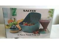 Salter 3 piece food prep set