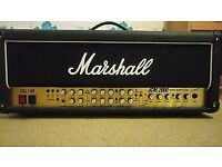 Marshall TSL100 JCM2000 with 5 way footswitch