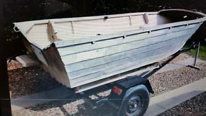 Sea jay 4m open tinny and trailer Caloundra Caloundra Area Preview
