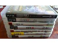7 Playstation3 Games Bundle