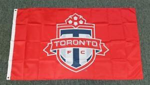 Toronto FC Flag - 5' X 3' Large