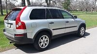 2004 Volvo xc90 7 seater. Retired driver well kept