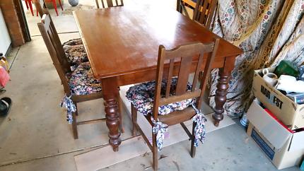 Antique Cedar Dining Table