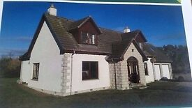 Gorgeous 5 bedroom house with 0.75acre of garden. Exclusive development in rural area near Inverness