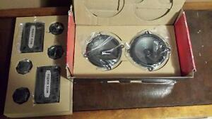 "NEW 5.25"" 2 Way 4Ω 90W RMS Component Speaker Pair MSRP$229.95US"