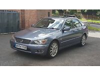 LEXUS IS200 ALLOY WHEELS & TYRES (From This MY ACTUAL CAR selling due to upgrading (Full Set of 5)