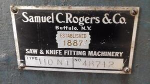 Rogers 110 inch bed knife grinder Kawartha Lakes Peterborough Area image 2