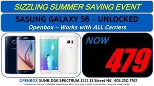 Samsung Galaxy S6 - Openbox - Unlocked