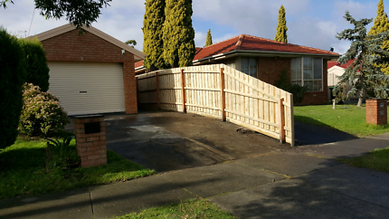 Paling Fencing small metreage specialists