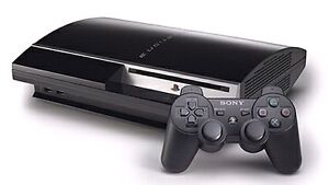 120GB PS3 with 2 controllers