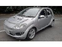 *12 MTHS WARRANTY*2004(54)SMART FOUR 1.3 PULSE 5DR AUTOMATIC WITH ONLY 78K MOT MAY 2017*