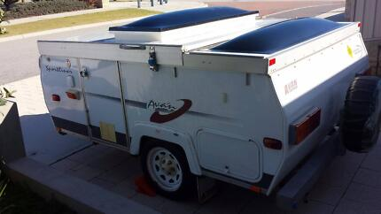 A'van Sportliner - Tip Top condition, so easy to tow