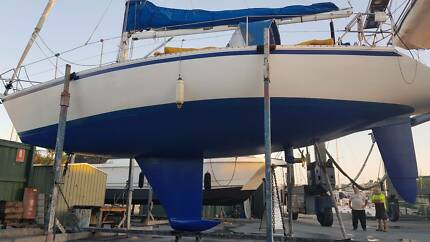 ALUMINIUM 35ft Sailing Yacht. Race or cruise ready to go now!