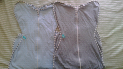 2 x Large LOVE TO DREAM swaddles