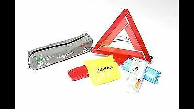 GENUINE NISSAN WARNING TRIANGLE JACKET FIRST AID KIT SET PACK KE93000032