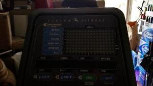 Recumbent bike vision fitness