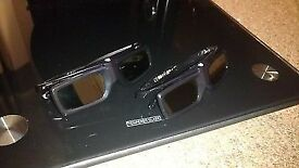 Two pairs of sony active shutter 3d glasses