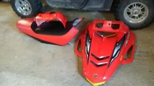 red hood tankcover and seat off 2003 Rx-1