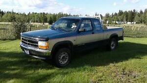 1992 Dodge Dakota Pickup Truck  PRICE REDUCED!!