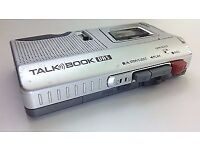 Sanyo Talk Book Vas Trc590m Microcassette Recorder Dictaphone