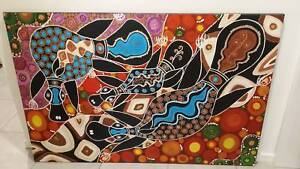 Platypus family painting Mango Hill Pine Rivers Area Preview