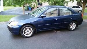 2002 Honda Civic LX-G SE Berline