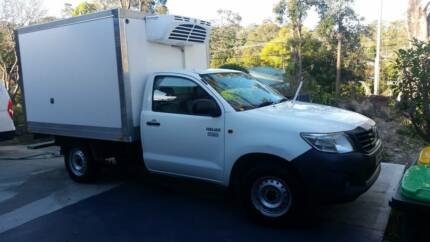 2012 Toyota Hilux Thermo King Refrigeration Freezer Ute