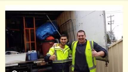 2 guys and a big truck $80 per hour removalists removals move