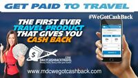 Get CASH BACK When You Travel