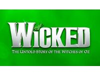 Tickets for Wicked x2 20th July 2018 Bord Gais
