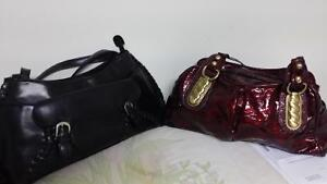 for sale two purse colour black and red cheap price
