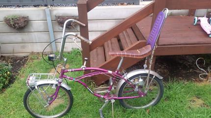 Vintage Dragster retro push bike all original