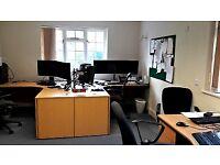 4 desk office suite - The Post House, Kitsmead Lane, Chertsey, Surrey