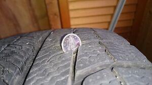 Michelin X-Ice Xi-II Snow Tires on rims 215/70/R15 London Ontario image 2