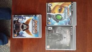 Selling 3 PS3 Games -$10 each