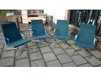 Genuine Vitra Charles Eames EA116 Lounge Chairs **MINT CONDITION**