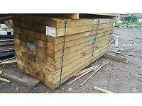 Railway Sleepers -Brown, New