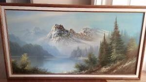 large oil paiting