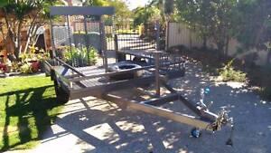 L@@K>NEW EXTREME H/DUTY 1.4TON BEAVER TAIL MOWER TRAILER Brisbane Region Preview