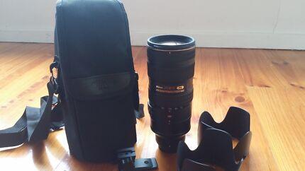 Nikon Lens 70-200mm 2.8 VR 2