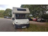 Fiat Ducato Camper LHD Turbo Diesel 4 Berth with Power Steering