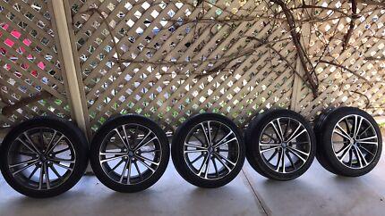 5 X Subaru BRZ - Toyota 86 1 X wheel and tyre Brand New 4 X Used