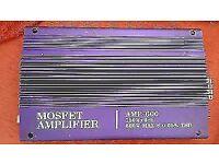 Mosfet Car Amplifier AMP-600 4CH